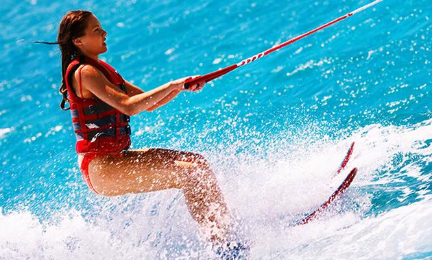 水上スキー偏光サングラス