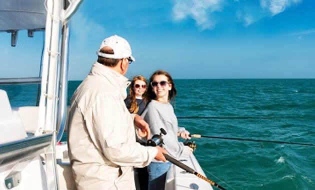 船釣り偏光サングラス