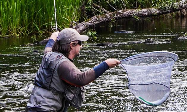 渓流釣り偏光サングラス